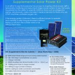 American Independent Power Supplemental Solar Power Kit